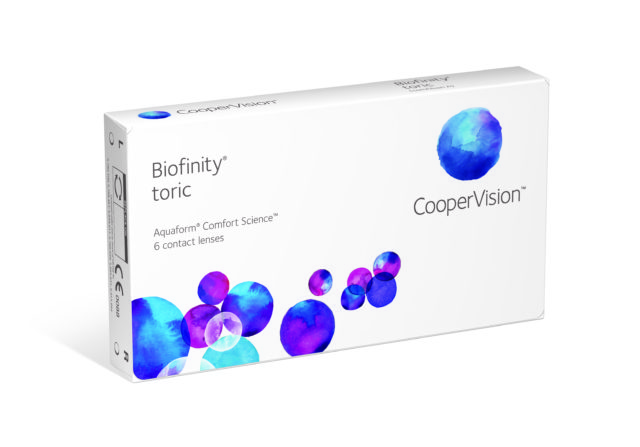 Product image Biofinity Toric 6-pack