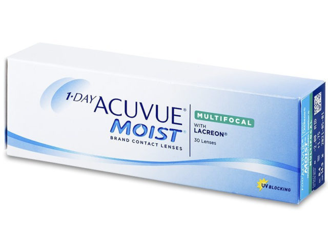 Product image 1 Day Acuvue Moist Multifocal